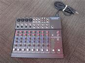 MACKIE MICRO SERIES 1202 12-CHANNEL MIC/LINE MIXER WITH POWER CORD